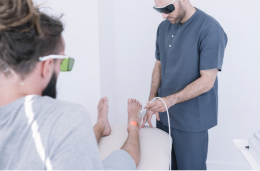 Lincolnwood IL Laser Therapy for Toe, Foot & Ankle Pain Wheeling, IL